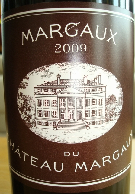 Margaux Du Chateau Margaux 2009