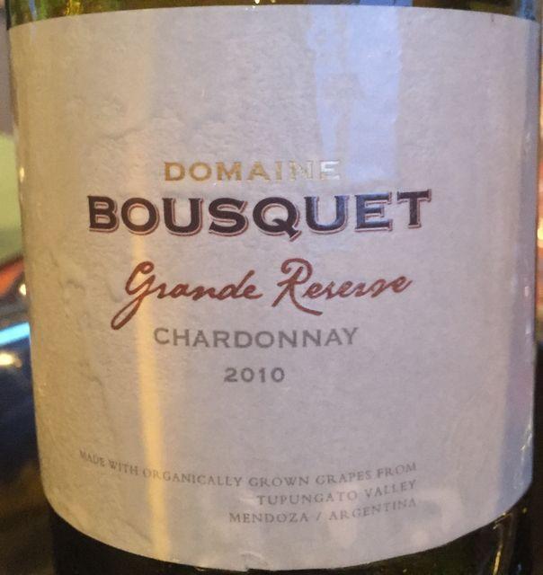 Bousquet Grande Reserve Chardonnay 2010