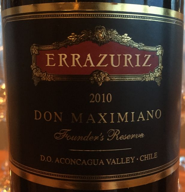Errazuriz Don Maximiano 2010