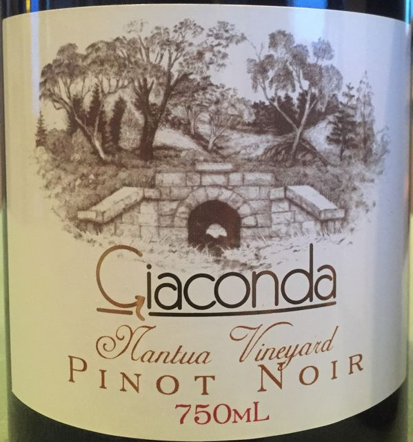Giaconda Nantua Vineyard Pinot Noir 2005