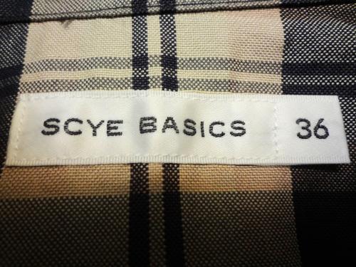 SCYE BASICS 2015S/S