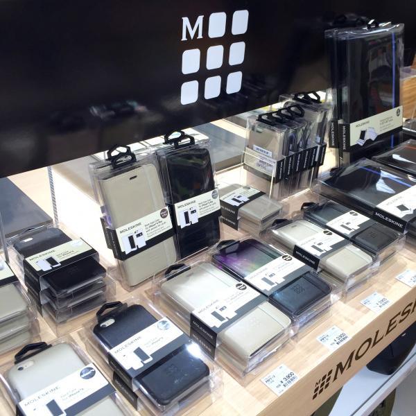 モレスキンのiPhone6ケース