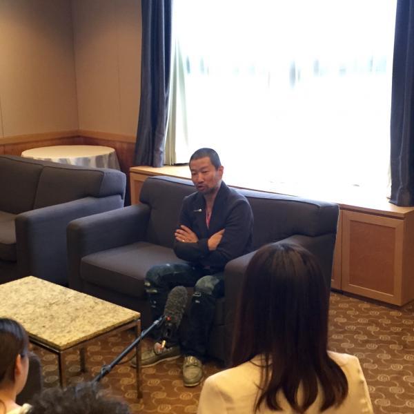 キャナルシティ博多従業員研修・木村祐一講演会「人を楽しませる方法」インタビュー