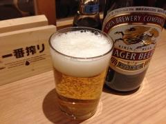 多幸橋本店:キリンラガー瓶