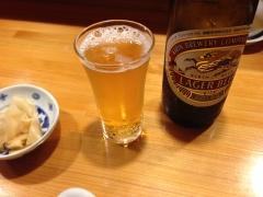鮨勝:ビール