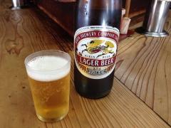 弥太郎うどん:ビール