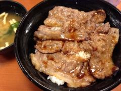 東京チカラめし:焼牛丼