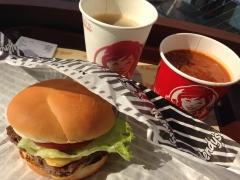 ウェンディーズ:ハンバーガーとチリ