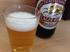 あそこ:ビール