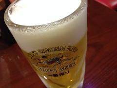 ファミリーばんざい健康食堂:ビール
