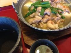 ジョイフル:キャベツたっぷりピリ辛塩鍋