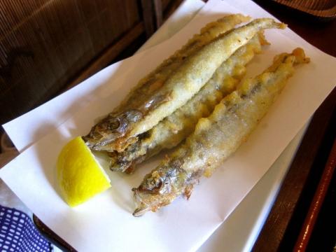 柳葉魚天0401