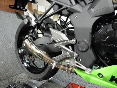 Ninja250SL   マフラー開発 (4)