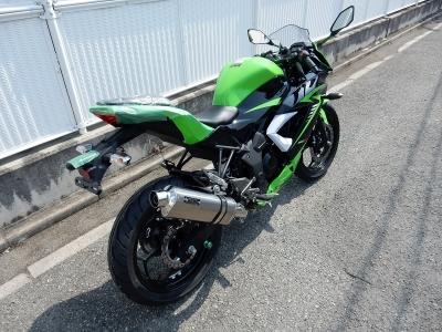 Ninja250Sl マフラー開発② (1)