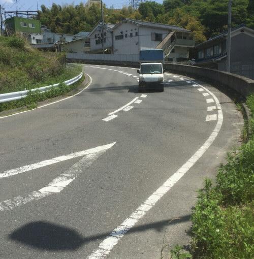 清滝峠最大坂