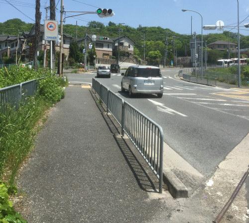 清滝峠2つ目信号