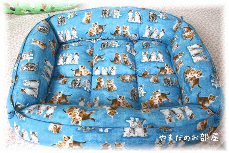 オーダー猫ベッド 完成~⑥