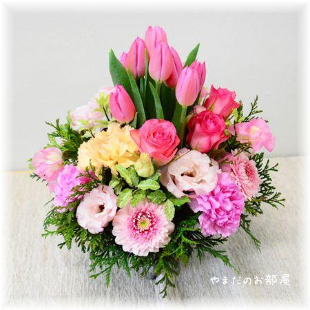 2015年ドリル一周忌のお花(お店画像)①