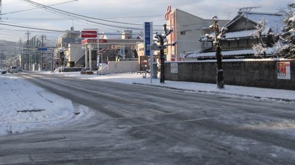 雪の朝 in 津山(3)