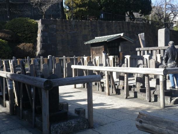 泉岳寺・四十七士の墓