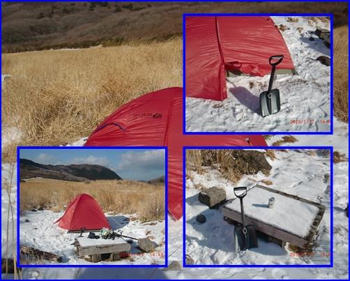 017 テント設営