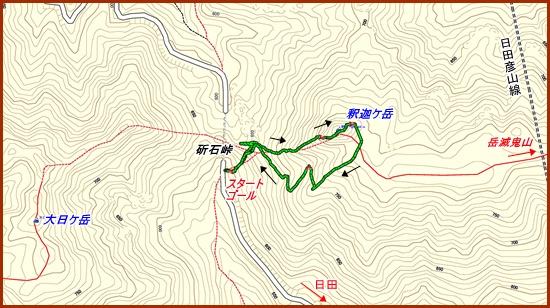 001 釈迦岳