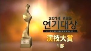 2014KBS演技大賞01部
