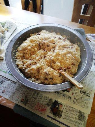 もち米調味液混合150419