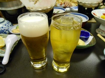 150217_ビール&お茶ハイ