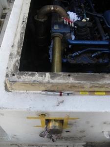 ヤマハMD55熱交換器