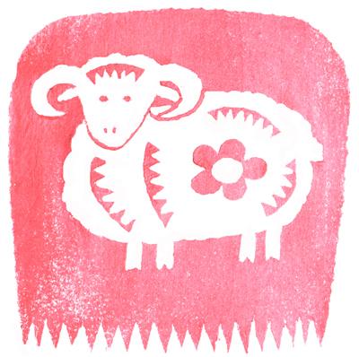 羊イラスト_0001