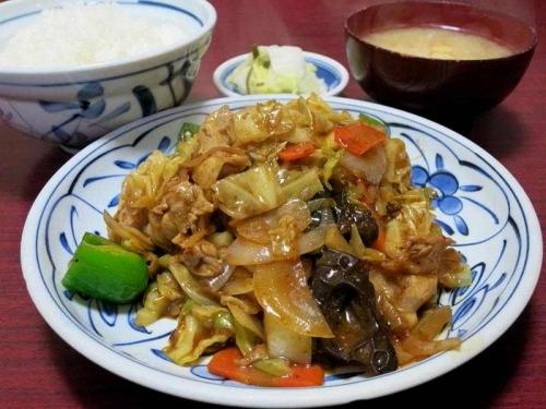 四川風ピリ辛炒め定食