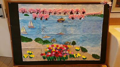 平成27年3月20日びわ湖の四季(春)
