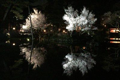 20150404金沢城、兼六園ライトアップ