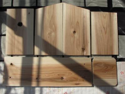 四十雀用巣箱