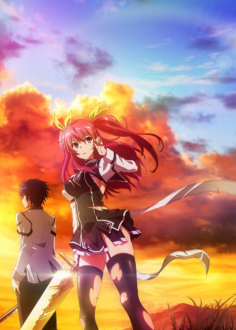 Tvアニメ 落第騎士の英雄譚 キービジュアル スタッフ キャスト発表