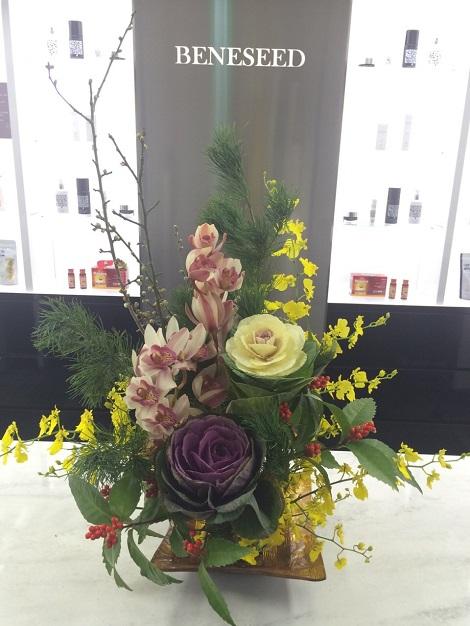 お正月お花②