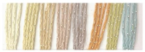 435フラックスCラメ糸