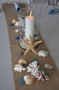 結婚式テーブル装飾貝殻3