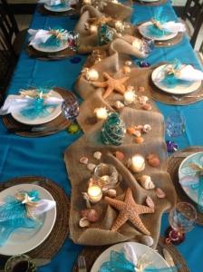 テーブル装飾貝殻1