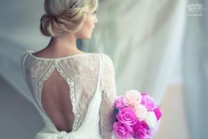 結婚式ギブソンタック