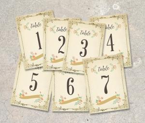 海外テーブルナンバー17