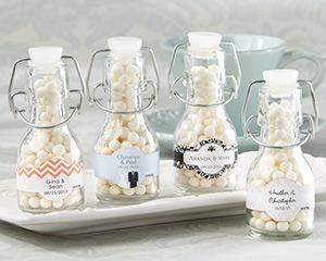 結婚式ウェディング瓶装飾