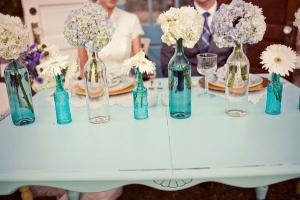 結婚式ウェディング瓶装飾3