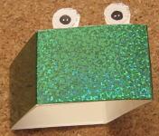 ピョンピョンガエル(出目蛙) 作り方2