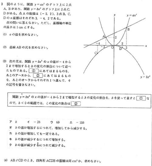 ... 中学数学単元別ポイント講義