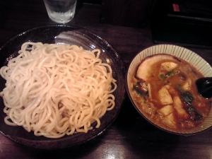 綿麺 フライデーナイト Part91 (15/6/26) 豚骨味噌つけ麺