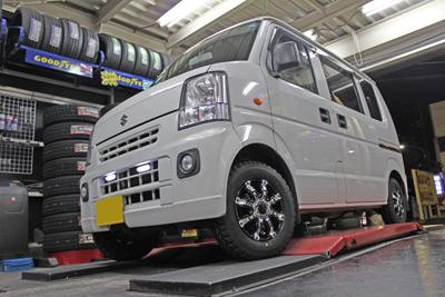 ごぶやまパート2 タイヤ&ホイール XTREME-J 軽トラック 軽バン 軽自動車