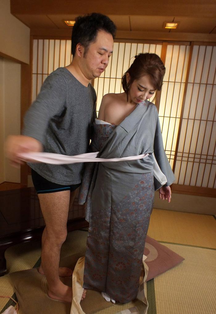 着物 浴衣 エロ画像 8