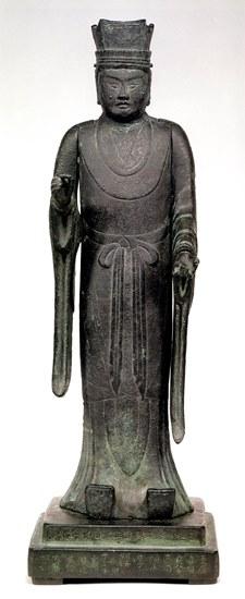 立山神像~胸部に刻まれている銘文が「立山神体」と判読された